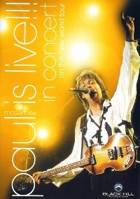 Cover Paul McCartney - Paul Is Live!!! In Concert On The New World Tour [DVD]